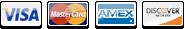Visa, Mastercard, Amex, Discover